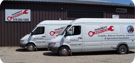 Hardy Service Trucks