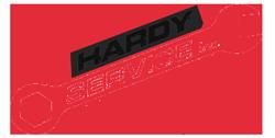 Hardy Service Logo